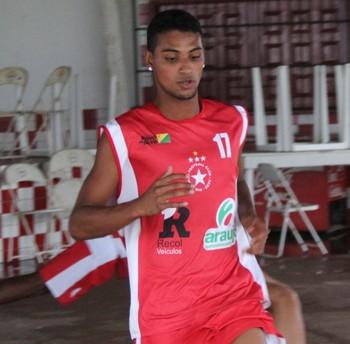 Lucas, atacante, Rio Branco-Ac (Foto: Duaine Rodrigues)