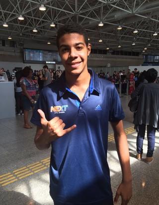 Thiago irmão Adriano Imperador (Foto: Igor Rodrigues / GloboEsporte.com)