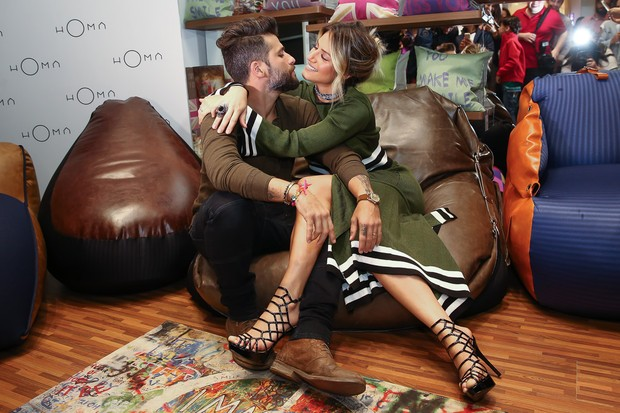 Bruno Gagliasso e Giovanna Ewbank (Foto:  Manuela Scarpa/Brazil News)