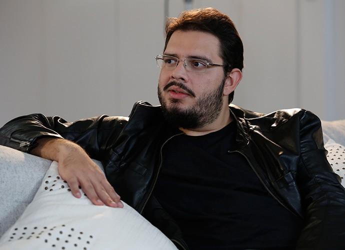 Rodrigo Fernandes falou sobre tecnologia, futuro e paternidade (Foto: Fábio Rocha / Gshow)