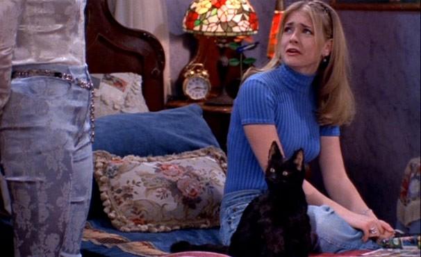 """Melissa Joan Hart na série """"Sabrina, a Aprendiz de Feiticeira"""" (Foto: Divulgação / Reprodução)"""