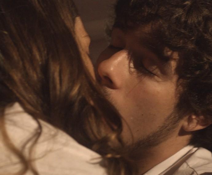 Chocados com o beijo Lulina! (Foto: TV Globo)