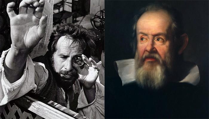 Chaim Topol e Galileu Galilei (Foto: Divulgação)
