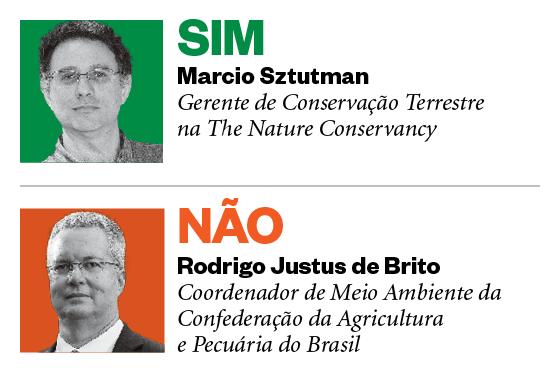 Debatedores: Marcio Sztutman e Rodrigo Justus de Brito (Foto: Época)