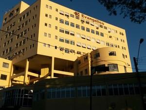 Hospital Evangélico  (Foto: Luiz Fernando Martins / RPCTV)