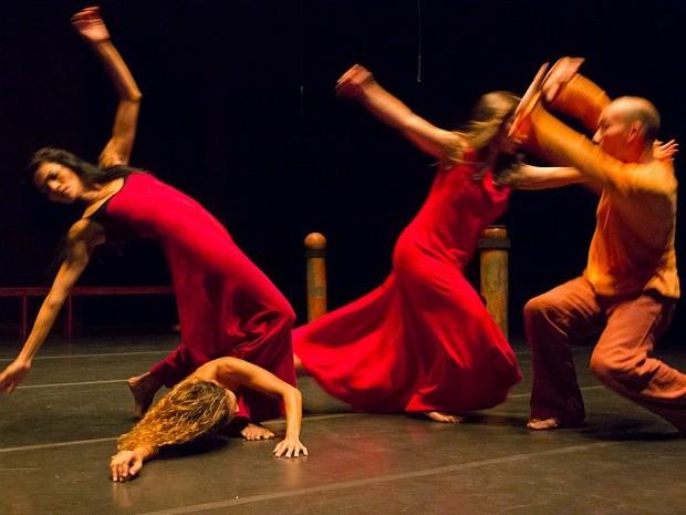 Espetáculo 'Presenças' teve estreia no Teatro Amazonas' (Foto: Divulgação)