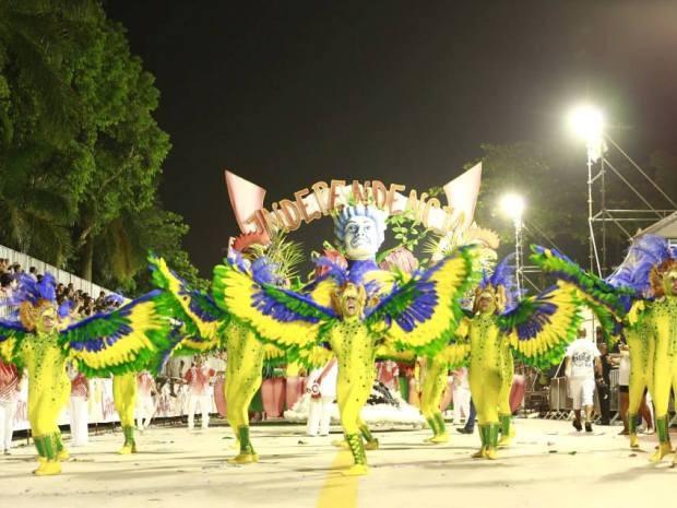 Independência vence Carnaval 2015 de Cubatão (Foto: Divulgação / Prefeitura de Cubatão)