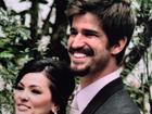 Suzana Alves festeja quatro anos de casada e se declara: 'Meu lindo!'