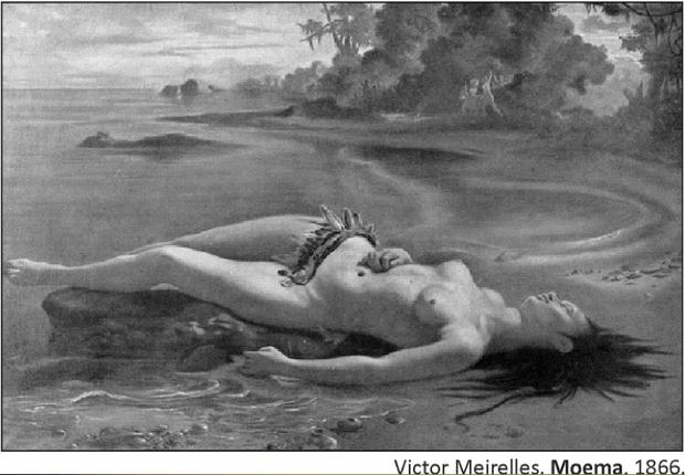 Quadro de Victor Meirelles (Foto: Reprodução/Fuvest)