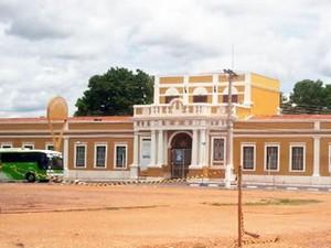 Sesc Arsenal em Cuiabá (Foto: Reprodução TVCA)