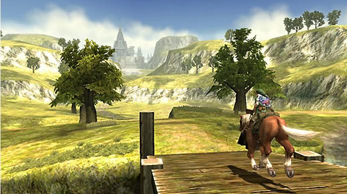 O campo de Hyrule se tornou uma das mais fortes marcas de The Legend of Zelda: Twilight Princess e Ocarina of Time (Foto: Reprodução/Zelda Dungeon)