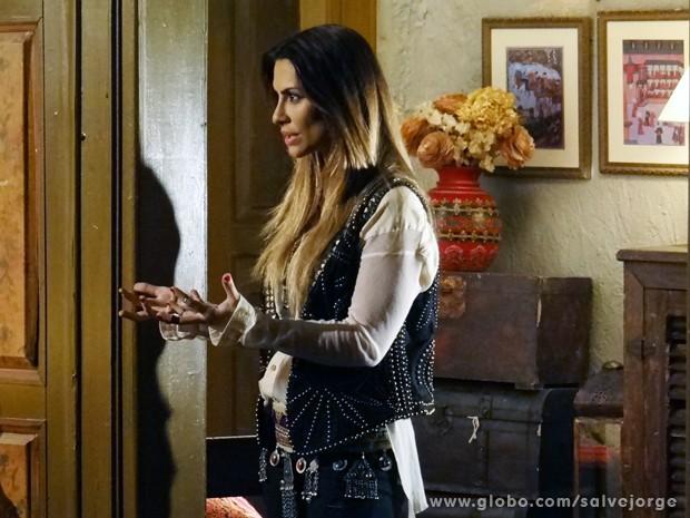 Bianca é curta e grossa: 'Quero o Zyah' (Foto: Salve Jorge/TV Globo)