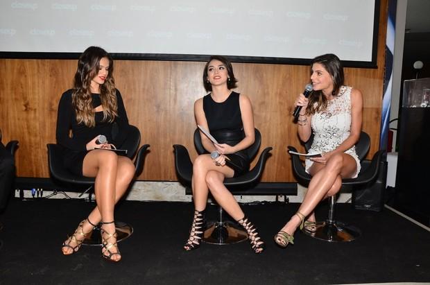 Bruna Marquezine, Isabelle Drummond e Daniella Cicarelli  (Foto: Caio Duran/AgNews)