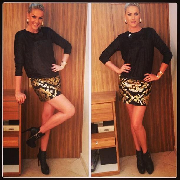 0f0ee25ba EGO - Ana Hickmann mostra suas pernas de 1,20m em fotos - notícias ...