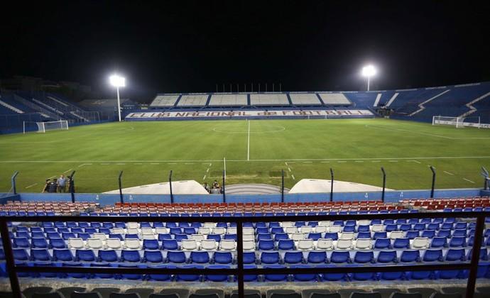 Estádio Parque Central será o palco da partida desta quarta-feira, pela Taça Libertadores (Foto:  Rafael Ribeiro / CBF)