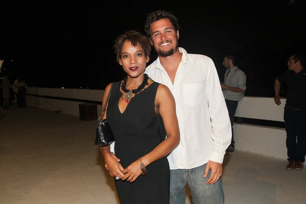 Felipe Dylon e Aparecida  Petrowky (Foto: Manuela Scarpa/ Brazil News)