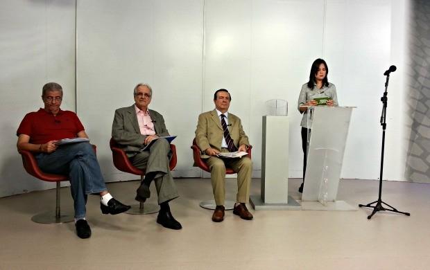 DEbate candidatos presidência Bahia (Foto: Raphael Carneiro)
