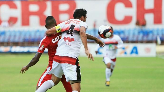 CRB x Santa Rita (Foto: Ailton Cruz/Gazeta de Alagoas)