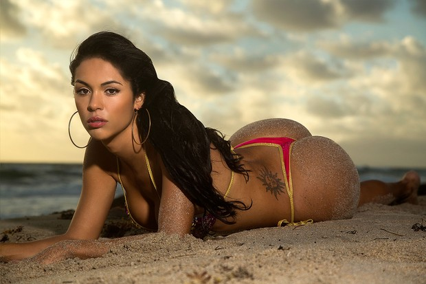 Aline Bernardes (Foto: Divulga��o/MF Models Assessoria)