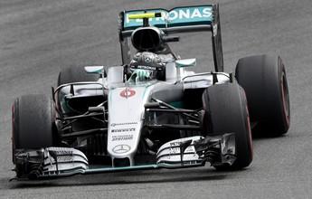 Em casa, Mercedes sobra novamente, e Nico lidera 1º treino em Hockenheim