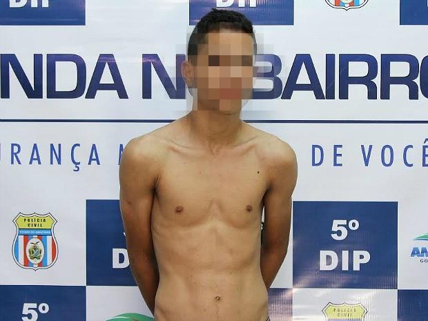 Suspeito é o último membro da família preso por tráfico de drogas (Foto: Divulgação/ Polícia Civil)