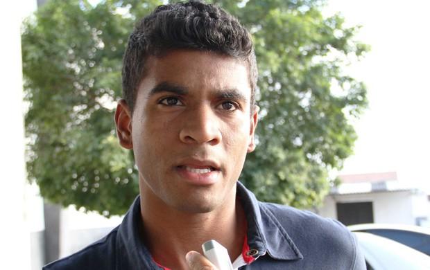 Léo Breno, zagueiro do Treze (Foto: Magnus Menezes / Jornal da Paraíba)