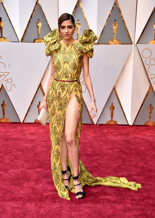 Blanca Blanco no Oscar 2017 (Foto: Getty Images)