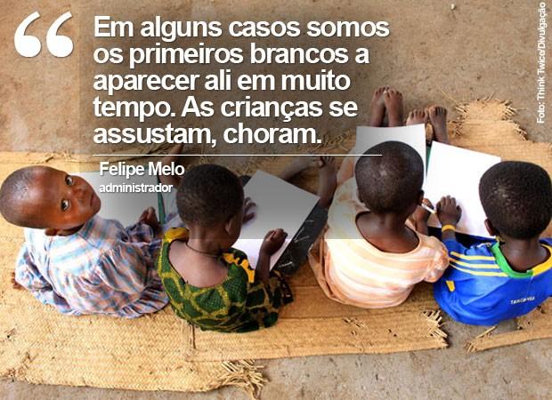 Selo frase Felipe Melo Think Twice (Foto: Think Twice/Divulgação)
