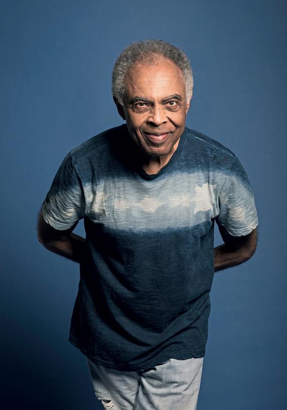 O cantor Gilberto Gil (Foto:  Daryan Dornelles )