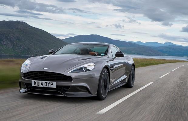 Aston Martin Vanquish (Foto: Divulgação)