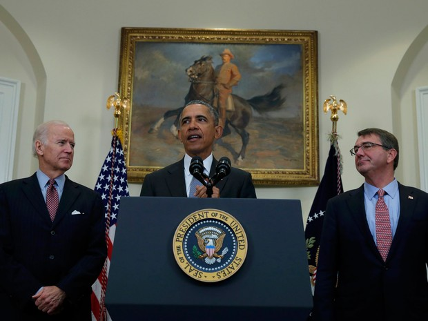 Presidente dos Estados Unidos, Barack Obama, anunciou nesta terça-feira o plano do Ministério da Defesa para o fechamento de Guantánamo (Foto: Carlos Barria/Reuters )