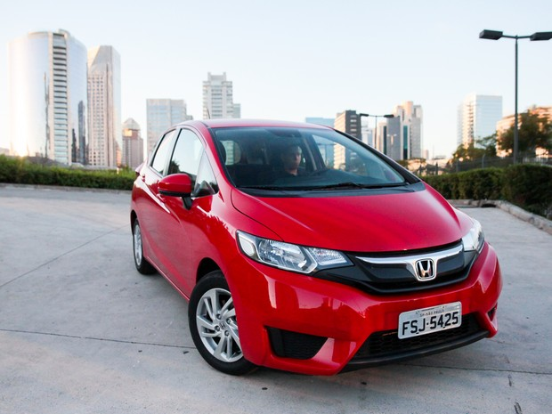 Honda Fit LX (Foto: Fabio Tito/G1)