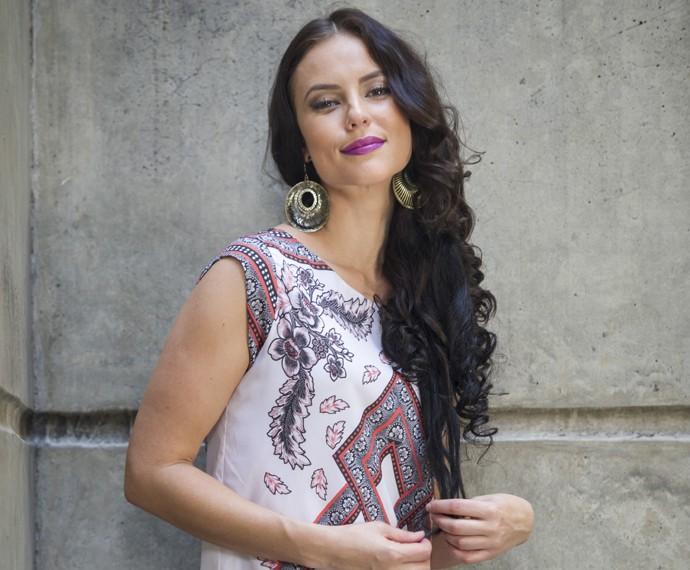A atriz lembra que queria levar os idosos para casa (Foto: Globo/Estevam Avellar)