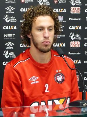 Rafael Galhardo  Atlético-PR (Foto: Monique Silva)