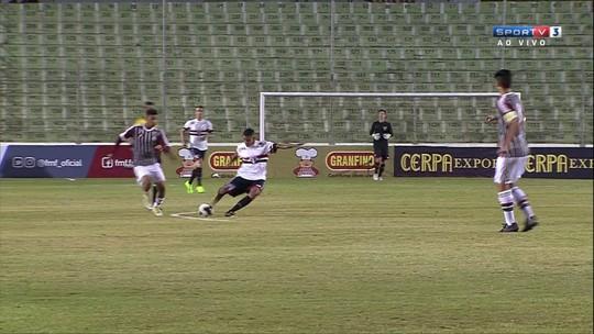 Atlético-MG e São Paulo vencem e fazem a segunda semifinal da Taça BH Sub-17