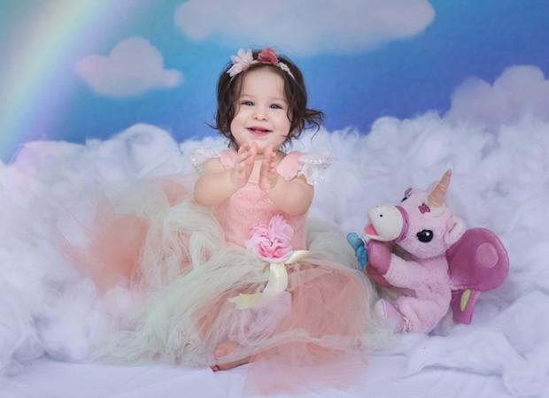 A aniversariante Rebekah (Foto: Mi Garcia)