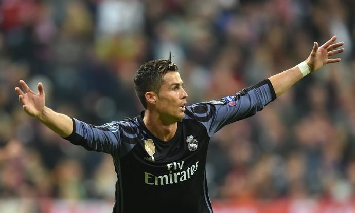 Cristiano Ronaldo Bayern de Munique Real Madrid Liga dos Campeões (Foto: AFP)