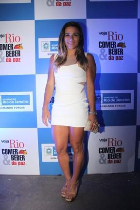Jade Barbosa em premiação no Rio (Foto: Thiago Mattos/ Ag. News)