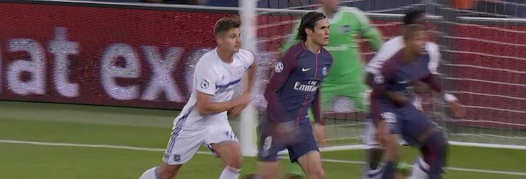 Paris Saint-Germain x Anderlecht - Liga dos Campeões 2017-2018 ... f6b857790fc56