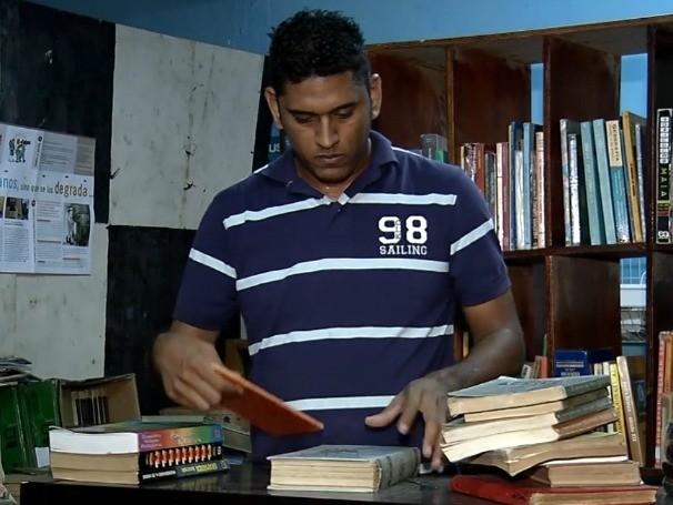 Feira de produtos usados em Fortaleza (Foto: Globo)