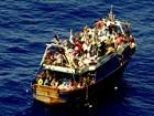 Marinha italiana resgata 2,7 mil imigrantes e recupera dois corpos