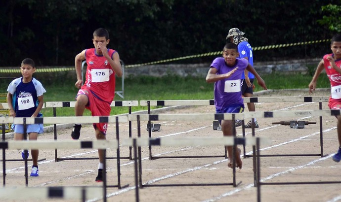 Atletismo  Amazonas Jogos da Juventude  (Foto: Mauro Neto/Sejel)