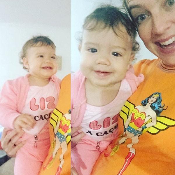 Luana e Liz (Foto: Reprodução/Instagram)