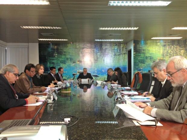 Reunião CNJ em MS (Foto: Gabriela Pavão/ G1 MS)