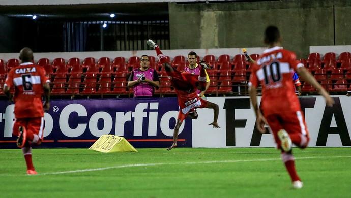 CRB x Bragantino - Estádio Rei Pelé - Adalberto (Foto: Ailton Cruz/Gazeta de Alagoas)