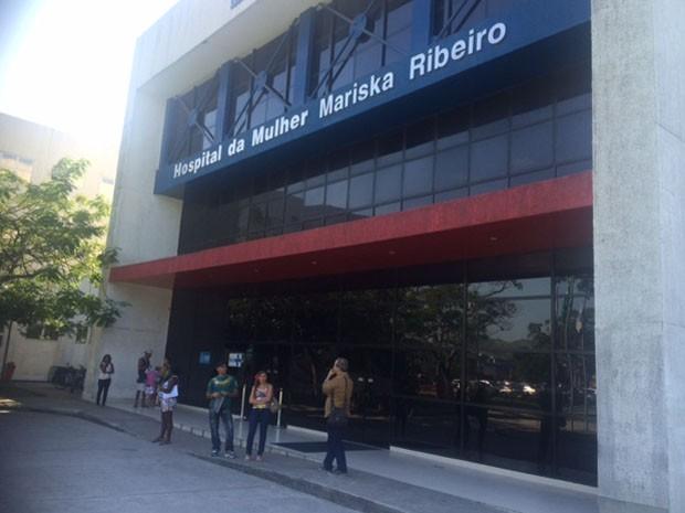 Fachada do hospital onde Rafaela Cristina foi atendida. (Foto: Cristina Boeckel/ G1)