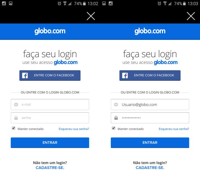 Aplicativo Globo Play funciona no iOS e Android (Foto: Reprodução/TechTudo)