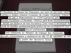 Cunha é notificado pelo 'Diário Oficial' sobre sessão para votar cassação