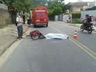 Ciclista morre após ser atropelada por ônibus no Norte da Ilha de SC