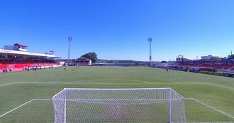 Estádio Gilbertão, do Linense (Foto: Reprodução SporTV)